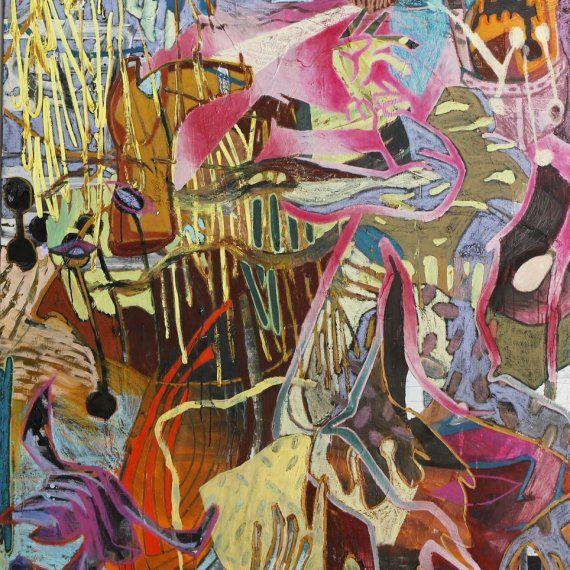 Truc-Anh, Z.T. olieverf op doek, 160x130 cm